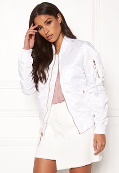 Alpha Industries MA-1 VF LW 09 White Bubbleroom.no