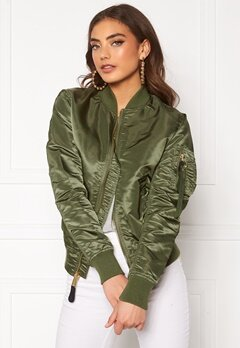 Alpha Industries MA-1 VF LW 393 Sage Green Bubbleroom.no