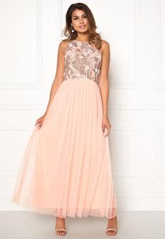 AngelEye Sleeveless Sequin Dress Pink Bubbleroom.no