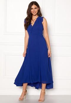 AngelEye Sleeveless Wrap Dress Blue Bubbleroom.no