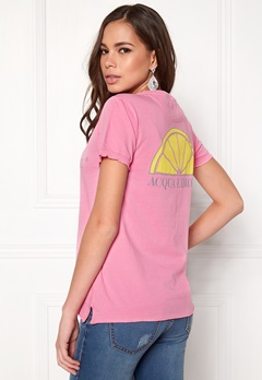 Acqua Limone Classic Tee Hot Pink Bubbleroom.no