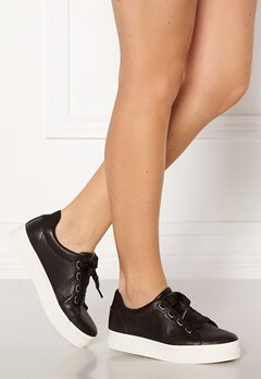 GANT Avona Leather Sneaker G00 Black Bubbleroom.no