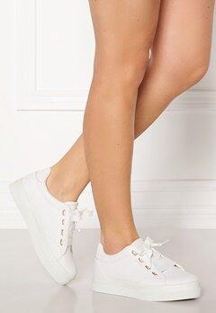 GANT Avona Leather Sneaker G290 Bright White Bubbleroom.no