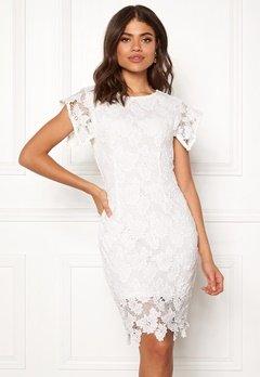 AX Paris Crochet Midi Dress White Bubbleroom.no