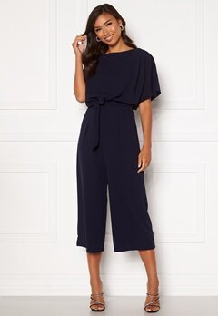 AX Paris Culotte Jumpsuit Navy Bubbleroom.no