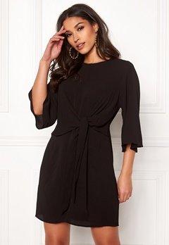 AX Paris Tie Waist Mini Dress Black Bubbleroom.no