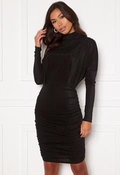 AX Paris High Neck Rough Sparkle Dress Black bubbleroom.no