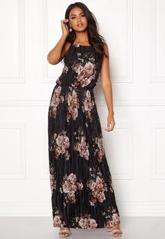 VILA B Maxi S/L Dress Black Bubbleroom.no