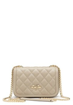 Love Moschino Bag With Chain 108 Taupe/Sand Bubbleroom.no