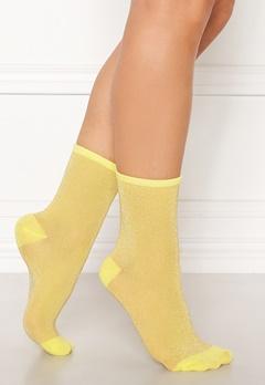 Becksöndergaard Dina Solid Socks Yellow Bubbleroom.no