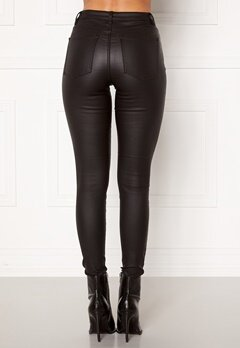 OBJECT Belle MW Coated Pants Black Bubbleroom.no