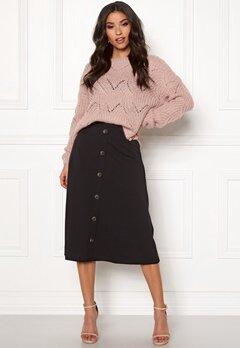 Jacqueline de Yong Bellis Button Skirt Black Bubbleroom.no