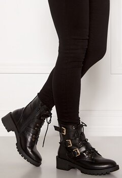 Bianco Claire Biker Boot 100 Black Bubbleroom.no