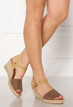 Bianco Dara Suede Espadrillo 211 Light Brown Bubbleroom.no