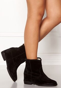 Billi Bi Black Suede Boots Black Bubbleroom.no