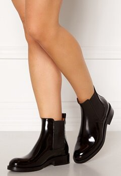Billi Bi Chelsea Leather Boots Black Polido 900 Bubbleroom.no