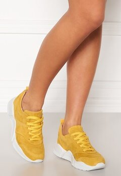 Billi Bi Chunky Sneakers Yellow 1795 Suede 55 Bubbleroom.no