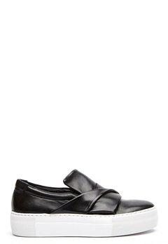 Billi Bi Leather Sneaker Black Bubbleroom.no
