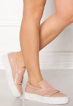 Billi Bi Leather Sneaker Nude Bubbleroom.no