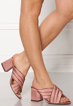 Billi Bi Satin Sandals Old Rose Bubbleroom.no