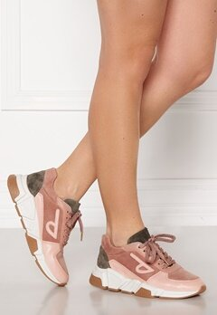 Billi Bi Sneakers Nude/Army comb. 857 Bubbleroom.no