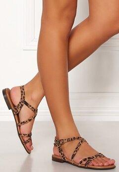 Billi Bi Suede Sandals 542 Leopard Bubbleroom.no