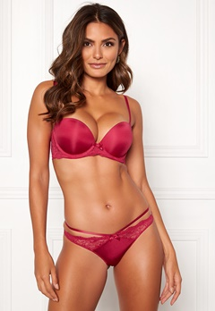 Dorina Blair Balcony Super Push Bra E75-Red Melange Bubbleroom.no