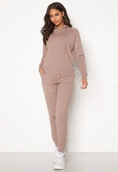 Blue Vanilla Lounge Jumper Jogger Set Taupe Bubbleroom.no