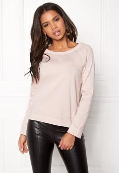Boomerang Hera Sweat Shirt Chalk Pink Bubbleroom.no