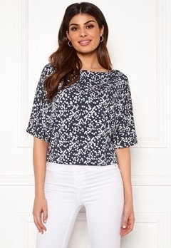 Boomerang Julia Printed Top Blue Nights Bubbleroom.no