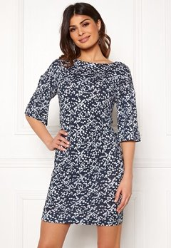 Boomerang Nora Printed Dress Blue Nights Bubbleroom.no