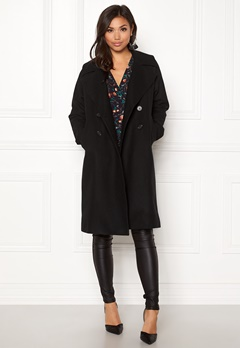Boomerang Spell Wool Coat Black Bubbleroom.no