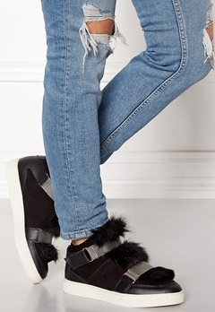 SOFIE SCHNOOR Boot With Fur Black Bubbleroom.no