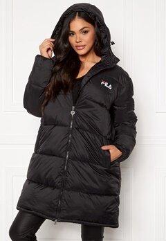 FILA Bronwen Puff Hood Jacket 002 black Bubbleroom.no