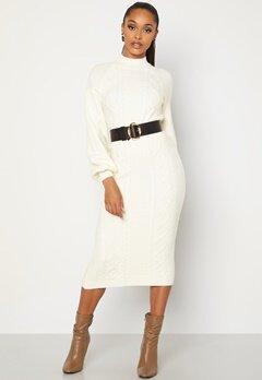 BUBBLEROOM Aisha knitted dress White bubbleroom.no