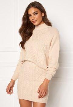 BUBBLEROOM Aisha knitted sweater Cream bubbleroom.no