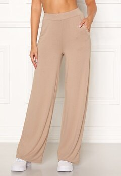 BUBBLEROOM Alanya trousers Light nougat Bubbleroom.no