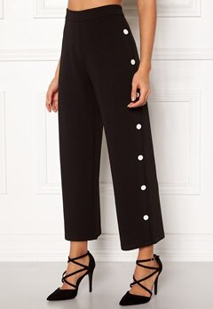 BUBBLEROOM Alexa button trousers Black / White Bubbleroom.no