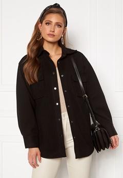BUBBLEROOM Alice Shirt Jacket Black Bubbleroom.no