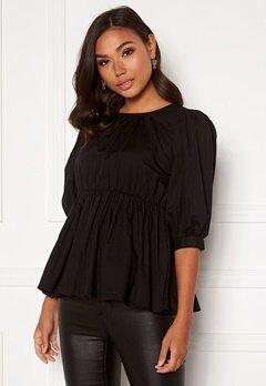 BUBBLEROOM Alyssa blouse Black Bubbleroom.no