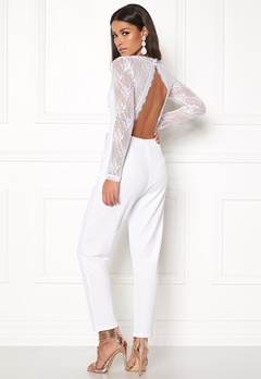 BUBBLEROOM Amilia jumpsuit White Bubbleroom.no