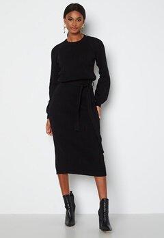 BUBBLEROOM Amira knitted dress Black bubbleroom.no