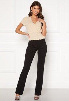 BUBBLEROOM Ari comfy suit trousers Black Bubbleroom.no