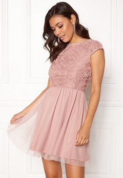 BUBBLEROOM Ayla Dress Dusty pink Bubbleroom.no