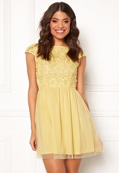 BUBBLEROOM Ayla dress Light yellow Bubbleroom.no