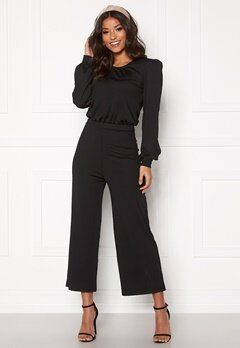 BUBBLEROOM Besa rib jumpsuit Black Bubbleroom.no