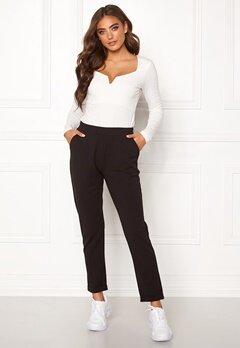 BUBBLEROOM Bonita soft suit pant Black Bubbleroom.no