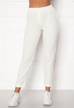 BUBBLEROOM Bonita soft suit pant White Bubbleroom.no