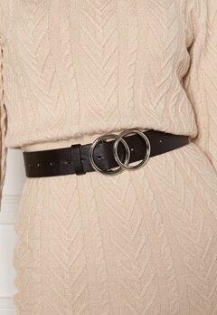 BUBBLEROOM Bree belt Black / Silver Bubbleroom.no