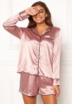 BUBBLEROOM Brenda pyjama set Dusty pink Bubbleroom.no